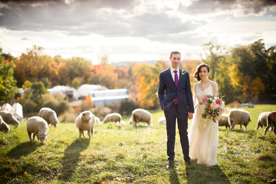 Blue Hill at Stone Barns Wedding Photograph