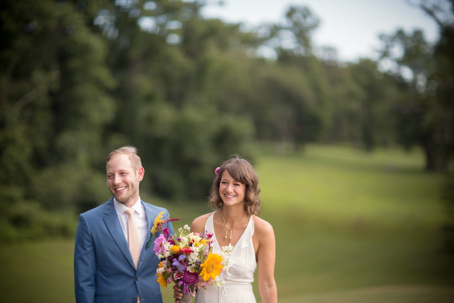 Clermont Historic Site Wedding Photograph