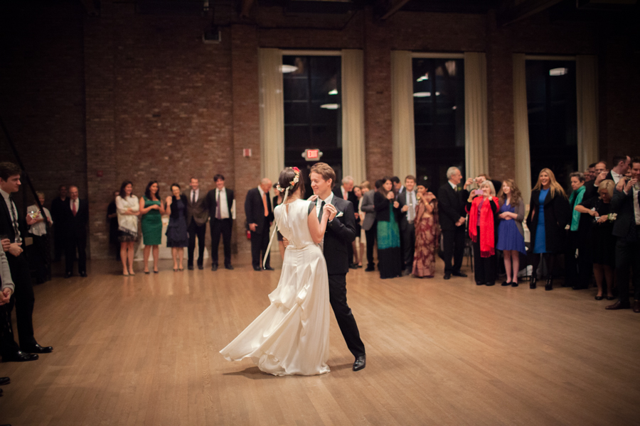 The Roundhouse at Beacon Falls Wedding Photograph