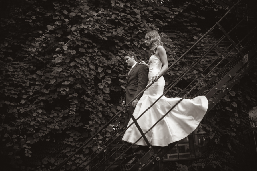 Salvage One Wedding Photograph