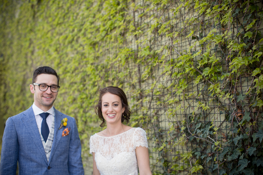 The Green Building Wedding Photograph