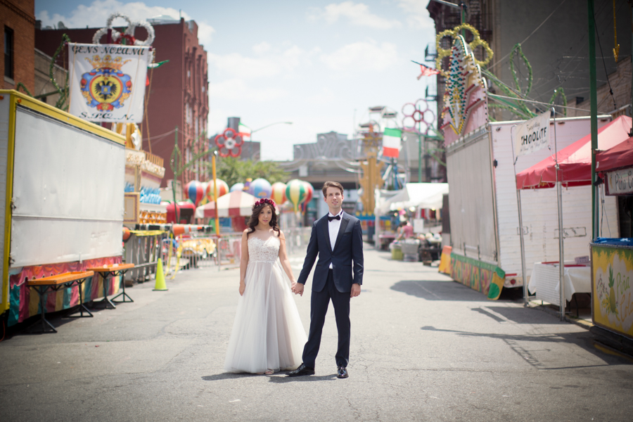 The Metropolitan Building Wedding Photograph